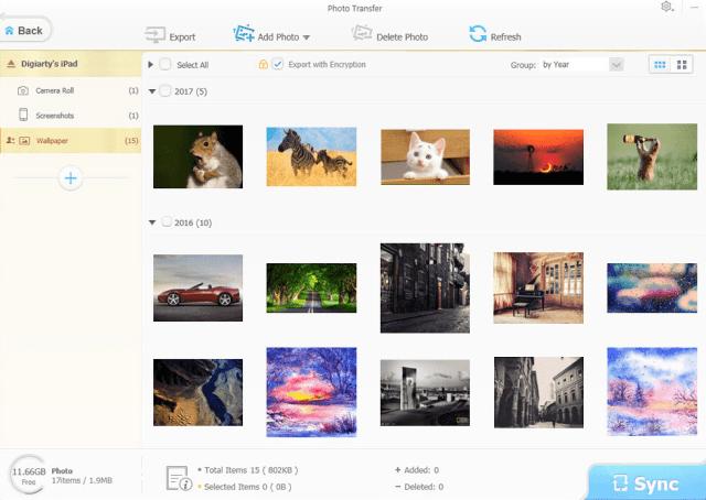 How to Transfer Photos Through WinX MediaTrans