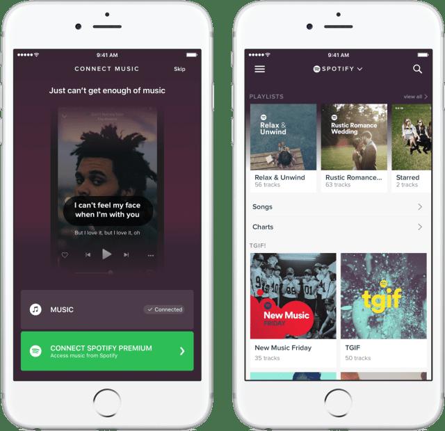 spotify App Integration
