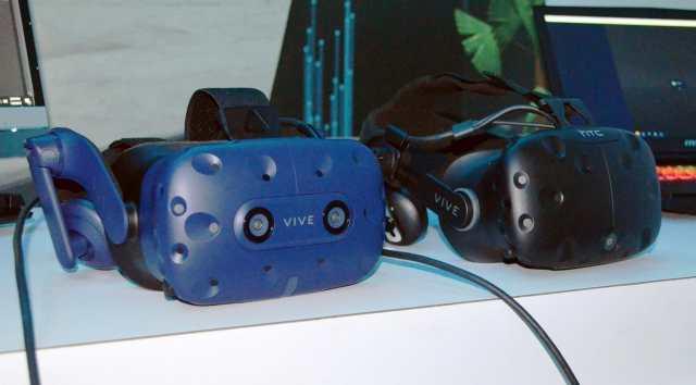 HTC Vive Pro vs HTC Vive