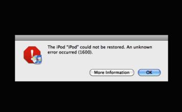 Error 1600