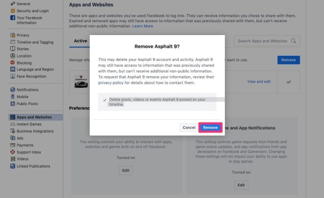 Apps, Websites, and Plugins Permission