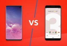 Google Pixel 3 VS Samsung S10