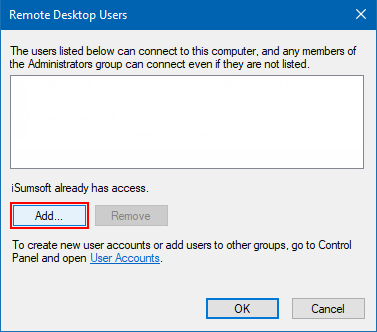 add-remote-desktop-users The Requested Session Access Is Denied
