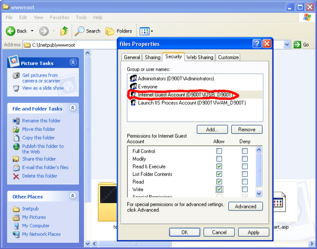 file permission windows