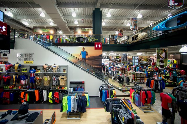 Search for a Sports Store with Promotion Codes