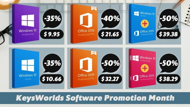 Keysworlds Software Promotion Month