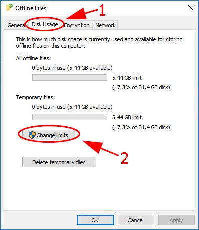 offline files