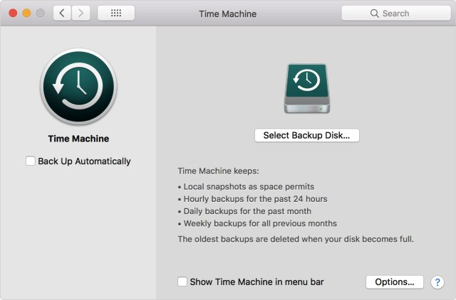 Do Frequent Backups of your mac
