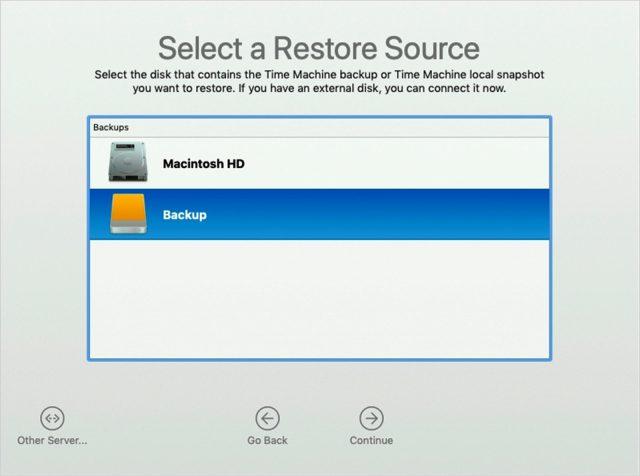 Backup at the Source