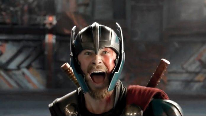 Thor arena scene