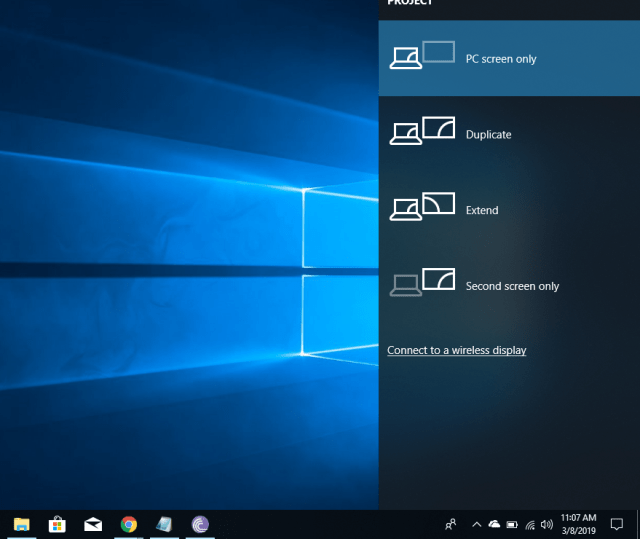 project-to-main-display-windows-10