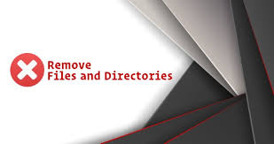 The Directory Cannot Be Removed