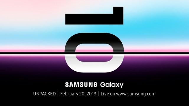 Samsung Galaxy S10 Launch Event
