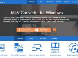 TunesKit M4V Converter For Windows