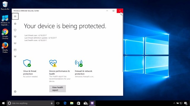 windows defender The Drive Cannot Find The Sector Requested