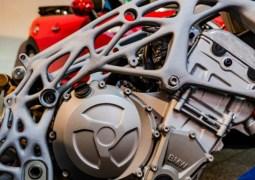 BMW motosiklet 3D baskılı olacak