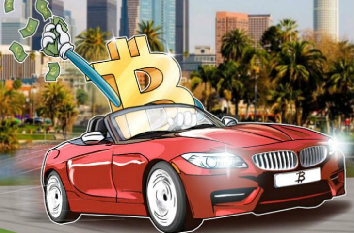 Bitcoin ile BMW