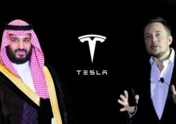 Suudi Arabistan Tesla hissesi satın aldı