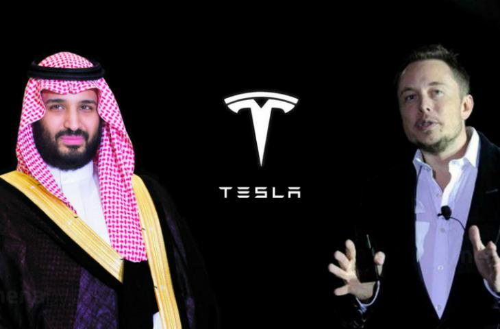 Suudi Arabistan Tesla