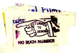 Return to Sender Mail