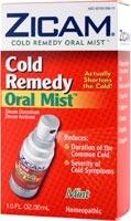 Zicam Oral Mist