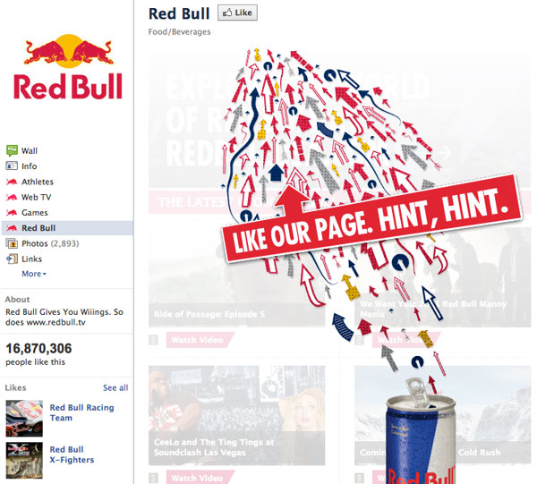 Red Bull Reveal Tab