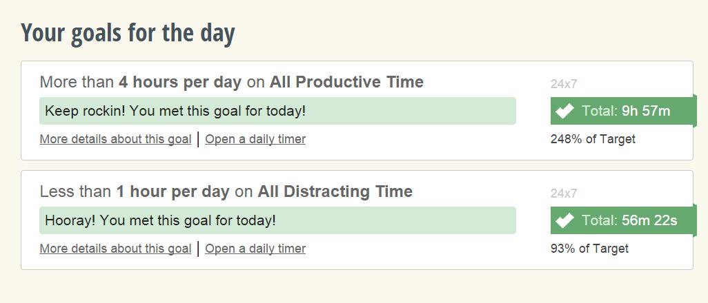 goals-rescuetime