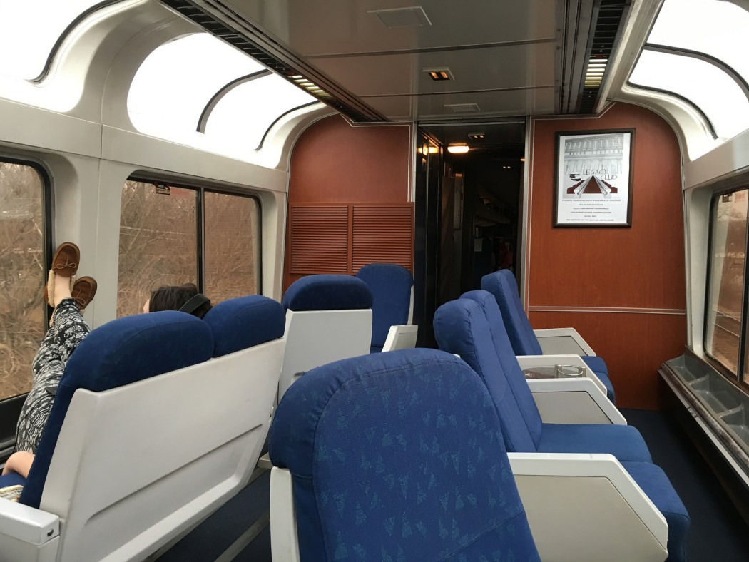 Amtrak Sightseeing Car