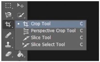 Crop Tool - Adobe Photoshop