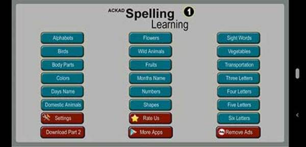 Kids Spelling Learning by ACKAD Developer
