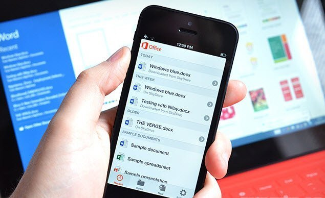 Office for iPhone