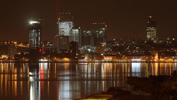 angola town