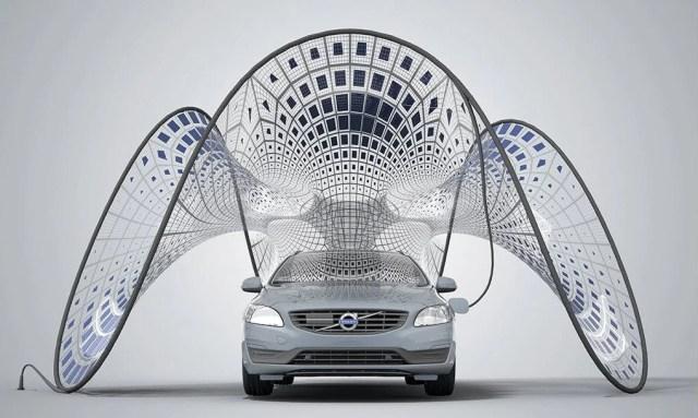 volvo solar concept 4