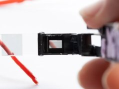 disected google glass display