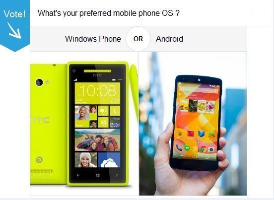 Windows Phone Vs Android