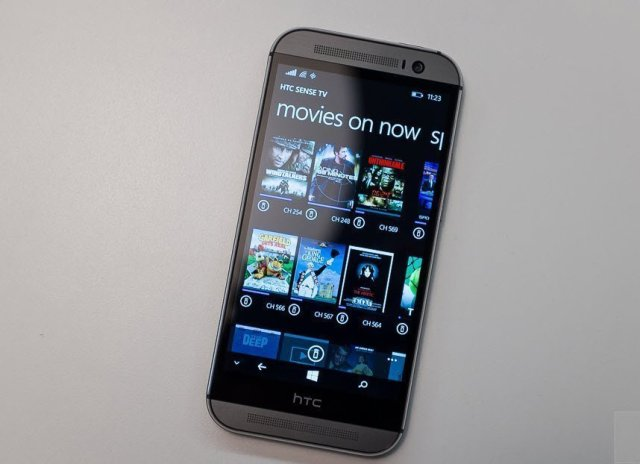 HTC One M8 for Windows_Sense TV on WP8.1