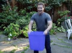 Mark Zuckerberg water pouring video