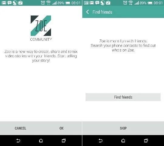 Zoe App install