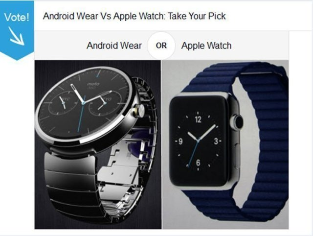 Apple watch Vs Android Wear