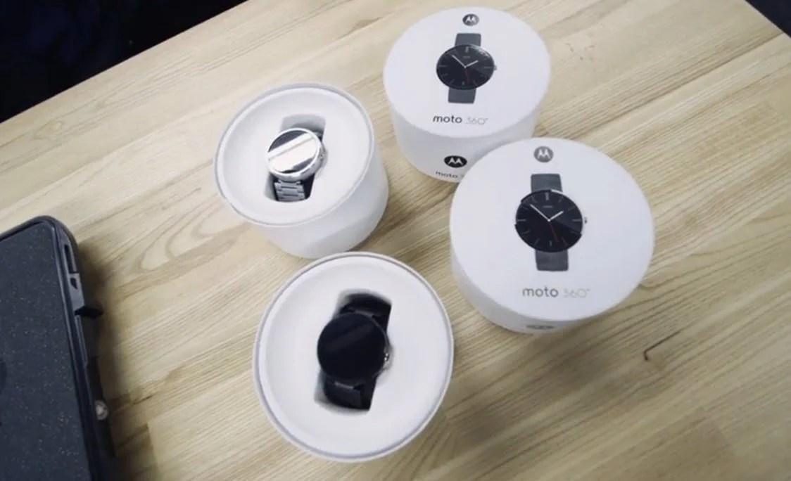 Moto 360 casings
