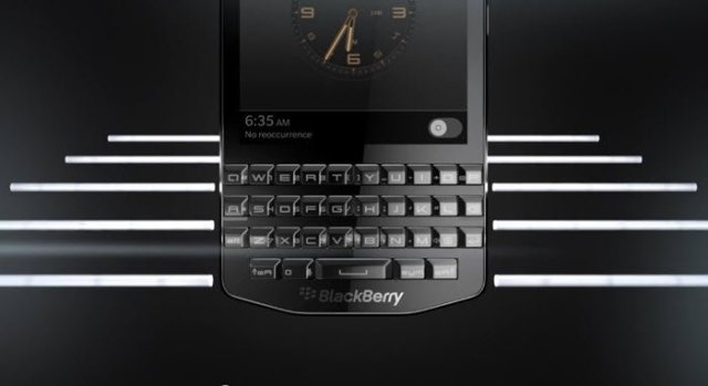 Black Berry Porsche P'9983 Smartphone