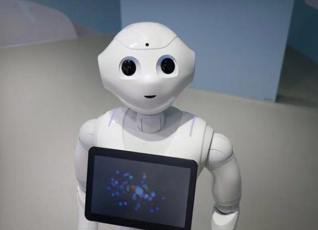 Humandroid robot Pepper