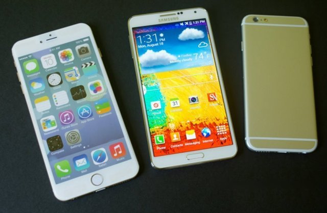 iPhone 6 plus Vs Galaxy Note
