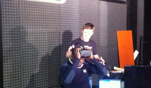 oculus vr headset gamers night uganda reaction
