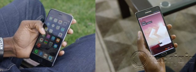 Galaxy Note 4 Vs iPhpne 6 Plus _4