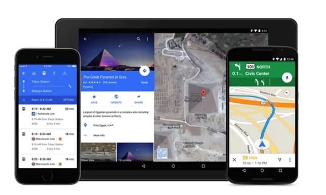 google maps_redeisgned