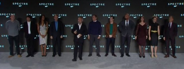 Jame bond Spectre cast