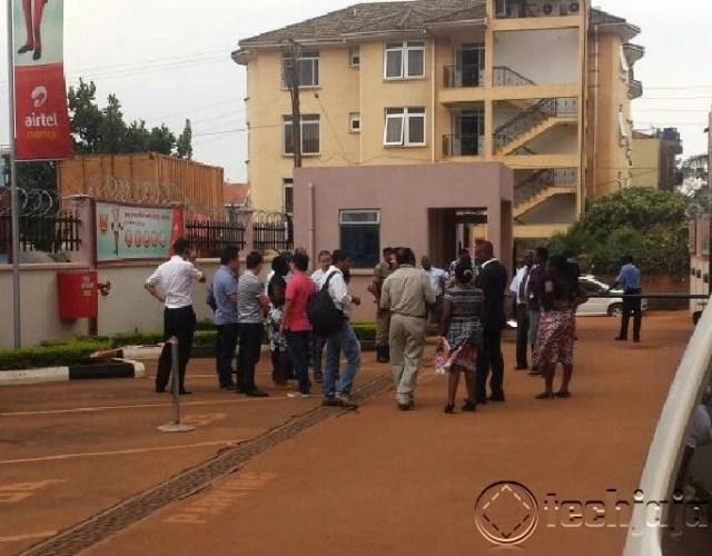 immigrations raid at Airtel