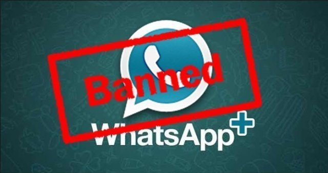Whatsapp plus banned