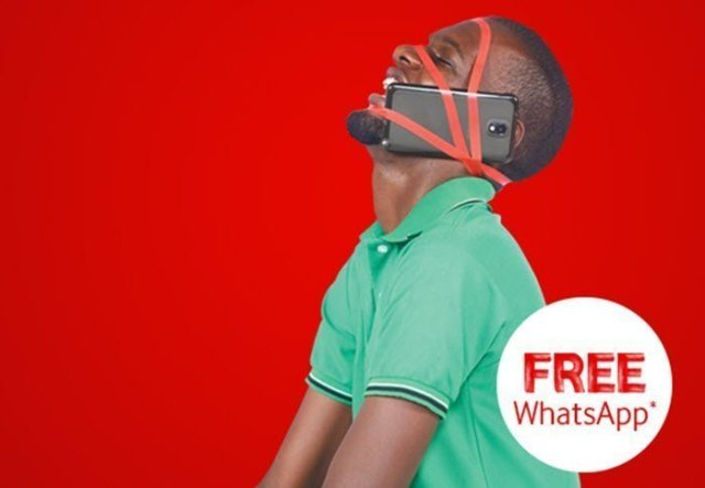 Vodafone Uganda cap internet